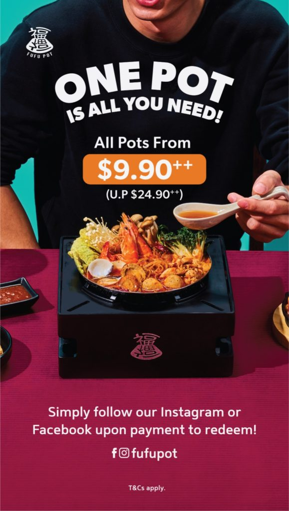 Celebrate the launch of Fufu Pot this 8 October 2021 with up to 60% off soups!   Why Not Deals