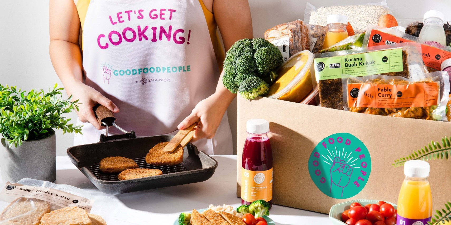 Enjoy up to 20% off special bundles from Good Food People on Deliveroo