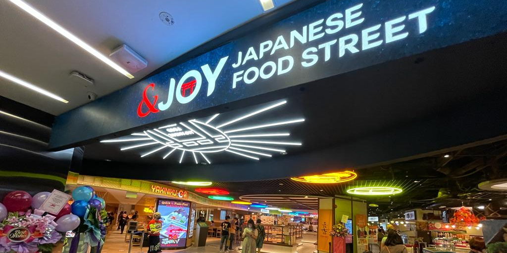 'Travel to Japan' at the Largest Revamped &JOY Japanese Food Street at NEX with 8 Concepts, includin
