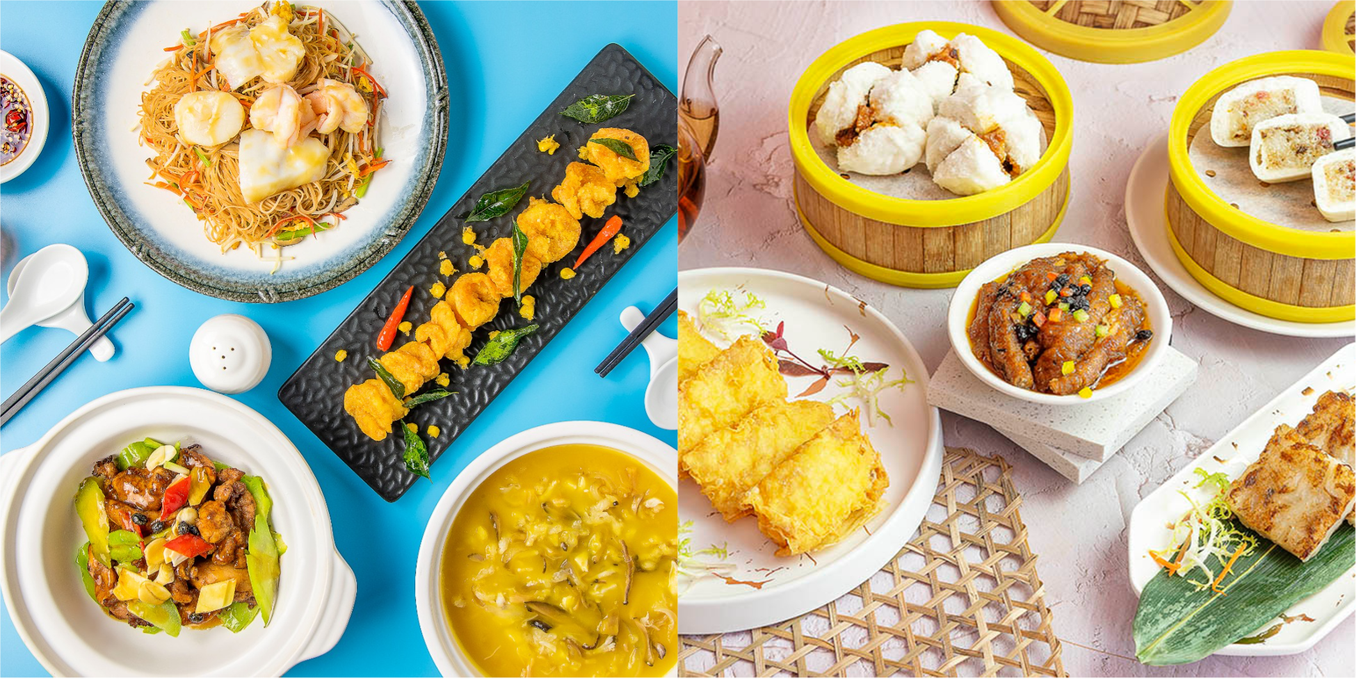 Tien Court October Specials: 3 Dim Sum for Just $12 & Set Menus For Two!