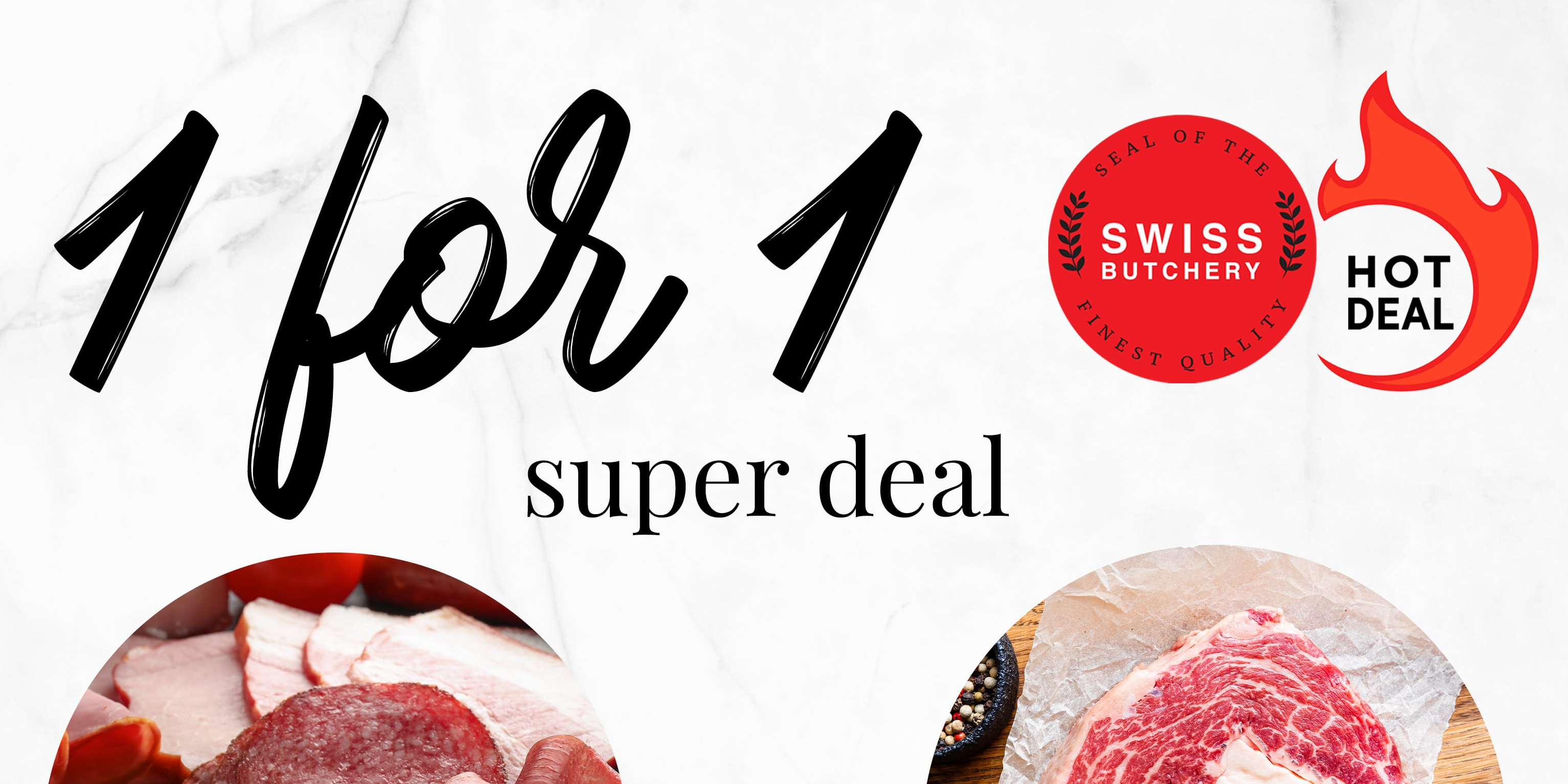 Exclusive 1-for-1 deals for selected Premium Meat + Buy 2 Get 1 Free for Freshly-baked Pastries!