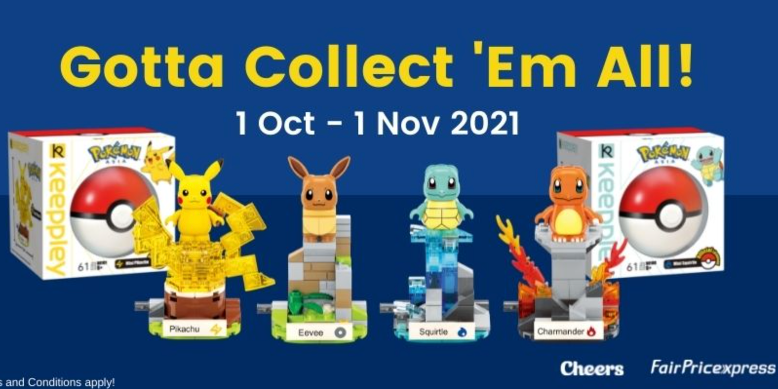 Celebrate Cheers 23rd Birthday with exclusive Pokemon collectibles