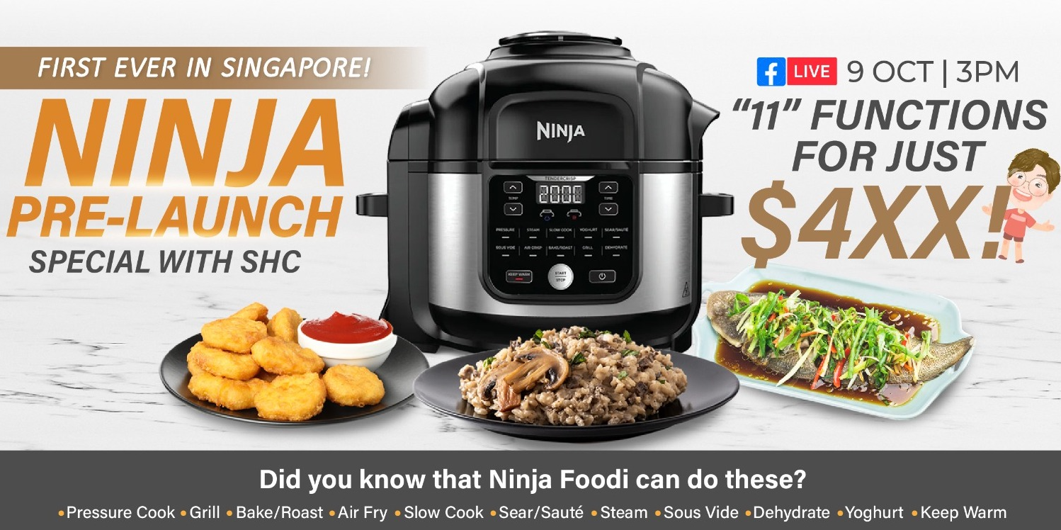 Be the FIRST to get the NEW Ninja Foodi 11-in-1 6L Multi Cooker OP350 at an EXCLUSIVE launch price