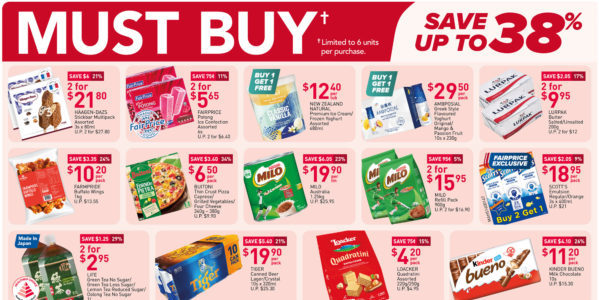 NTUC FairPrice Singapore Your Weekly Saver Promotions 14-20 Oct 2021