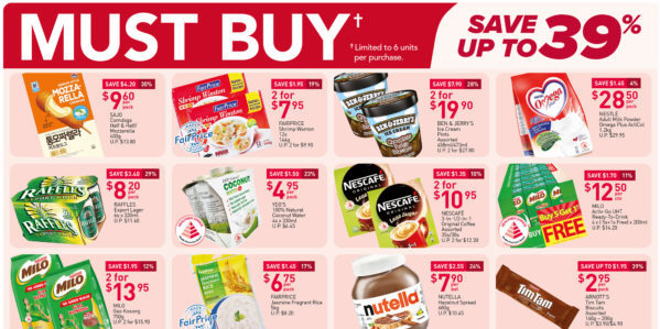 NTUC FairPrice Singapore Your Weekly Saver Promotions 21-27 Oct 2021