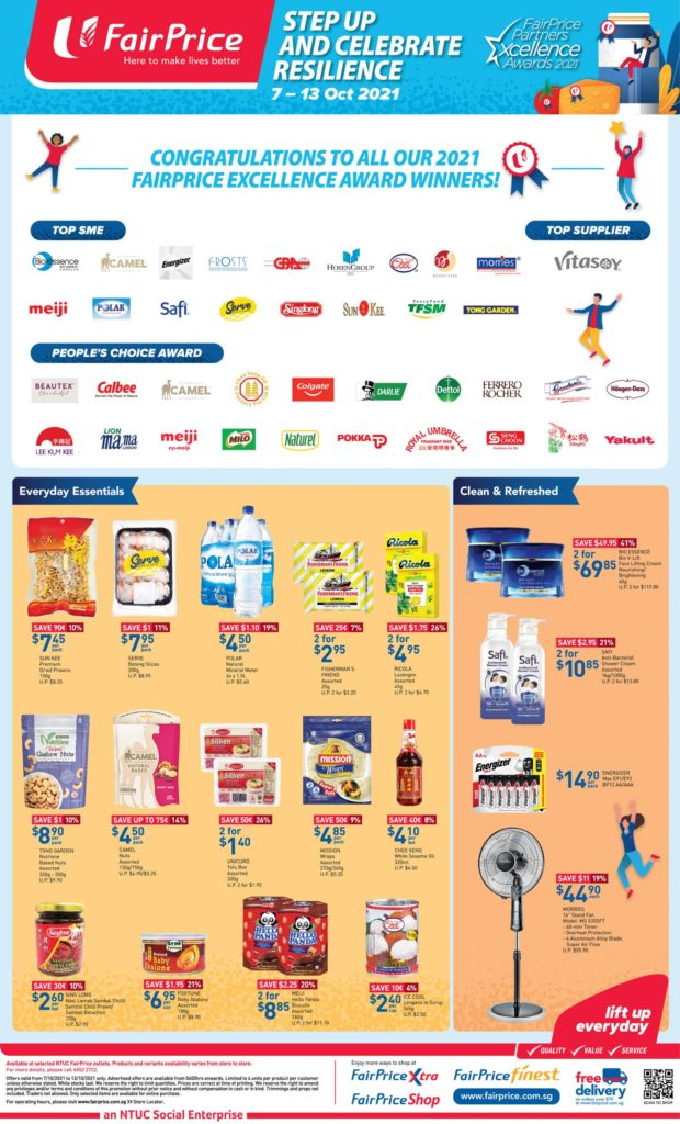 NTUC FairPrice Singapore Your Weekly Saver Promotions 7-13 Oct 2021 | Why Not Deals 10