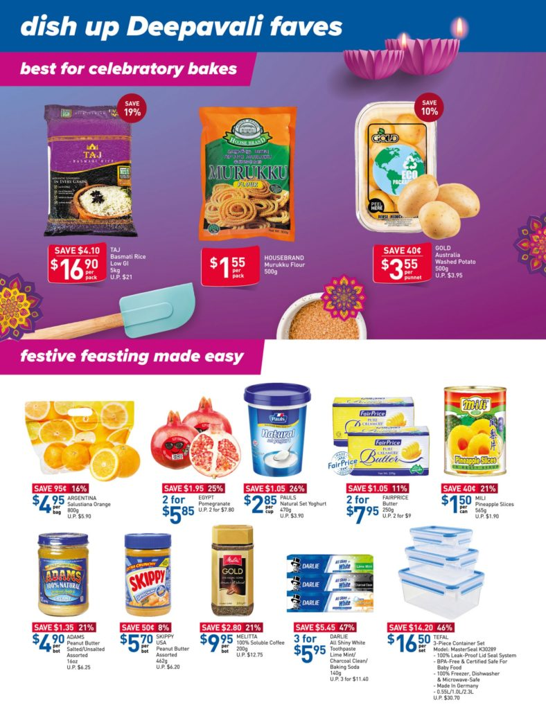 NTUC FairPrice Singapore Your Weekly Saver Promotions 7-13 Oct 2021 | Why Not Deals 14