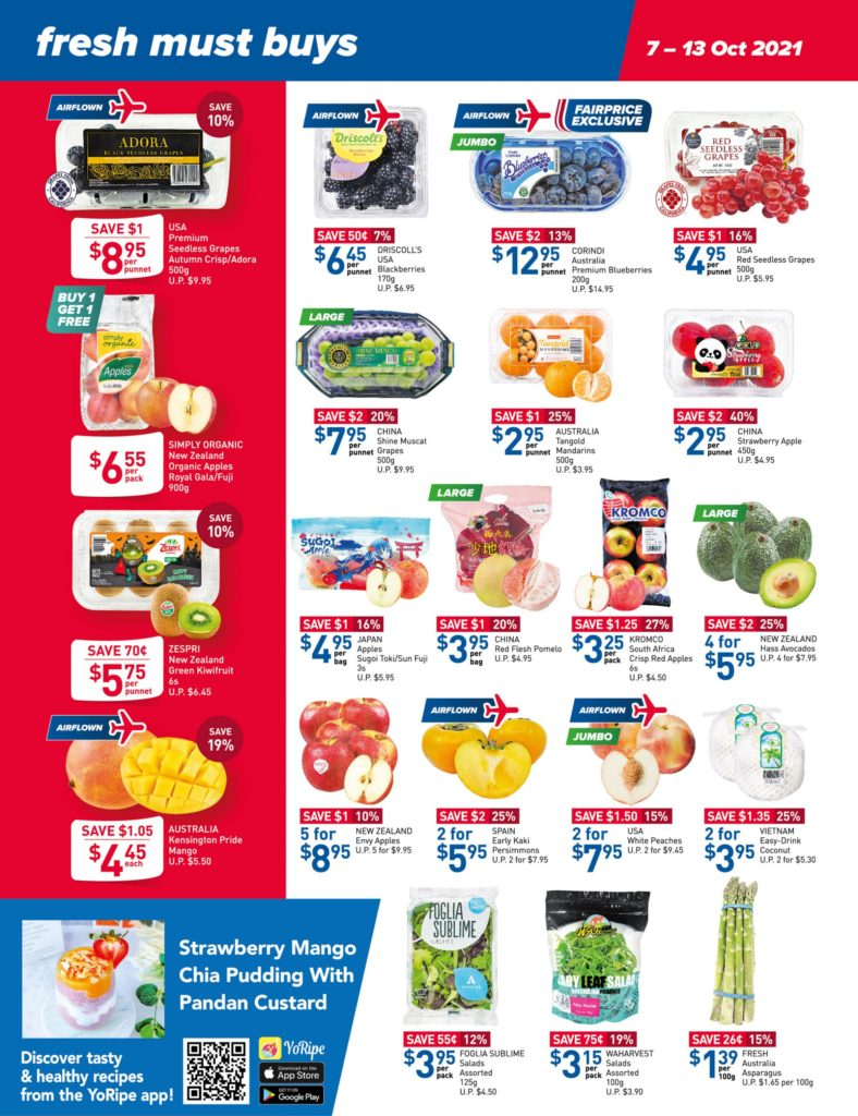 NTUC FairPrice Singapore Your Weekly Saver Promotions 7-13 Oct 2021 | Why Not Deals 16