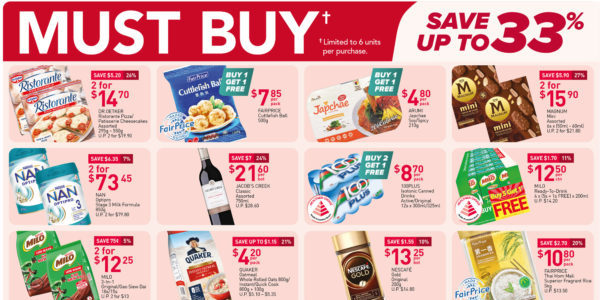 NTUC FairPrice Singapore Your Weekly Saver Promotions 7-13 Oct 2021