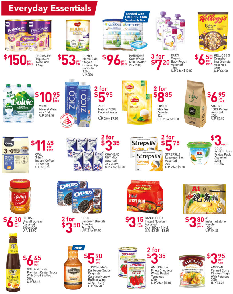 NTUC FairPrice Singapore Your Weekly Saver Promotions 7-13 Oct 2021 | Why Not Deals 3