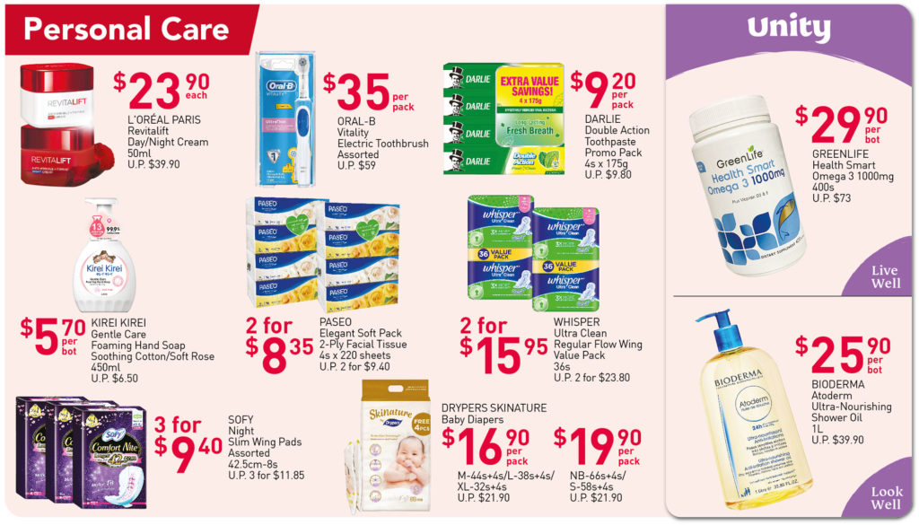 NTUC FairPrice Singapore Your Weekly Saver Promotions 7-13 Oct 2021 | Why Not Deals 7