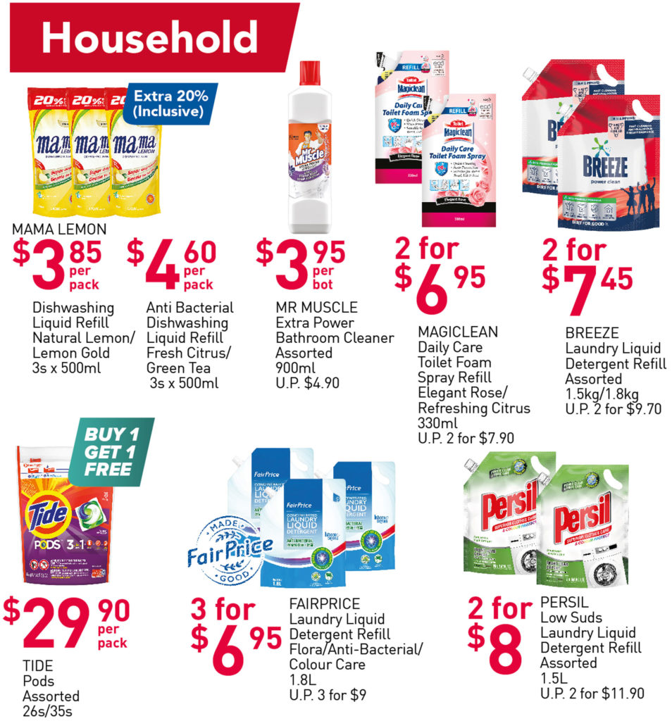 NTUC FairPrice Singapore Your Weekly Saver Promotions 7-13 Oct 2021 | Why Not Deals 8